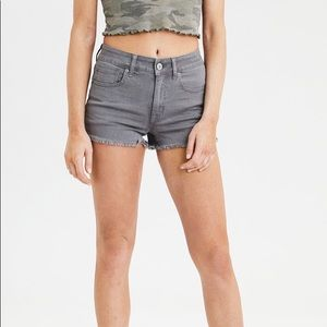AEO power fit Denim shorts😍💕